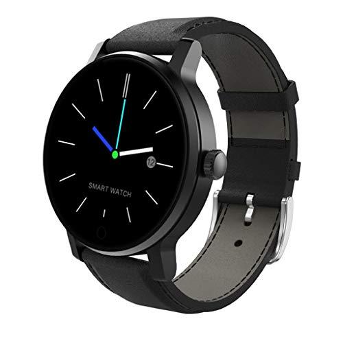 Chenang Bluetooth Smartwatch Fitness Uhr Intelligente Armbanduhr Fitness Tracker Smart Watch Sport Uhr Schrittzähler Schlaftracker Romte Capture Kompatibel mit Android Smartphone Android 4.0 Gps