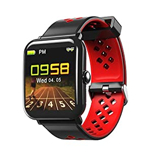 Panamalar Smart Watch, IP68 Waterproof Fitness Tracker with Heart Rate Monitor, Bluetooth 4.0 Activity Tracker Smart Bracelet Wristband Pedometer for Android iOS