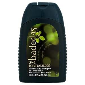 Badedas Revitalising Shower Gel, Shampoo & Conditioner, 200ml