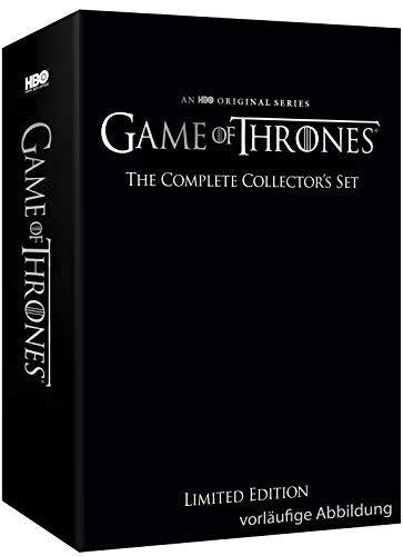 Preisvergleich Produktbild Game of Thrones Limited Collector's Edition - Die komplette Serie (Staffeln 1-8) (Exklusiv bei Amazon.de) [Blu-ray] [Limited Collector's Edition]