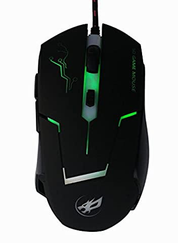 High Precision DPI Symmetrical Optical USB Wired Mouse with 6 Buttons Gaming Mouse ,Ergonomic Mice for Pro