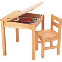 Pintoy Schreibtisch und Stuhl, Naturholz - preisvergleich