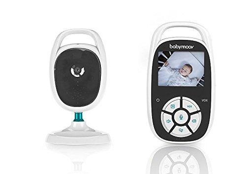 "Babymoov - YOO See, Babyphone vidéo caméra surveillance bébé compact, Ecran 2,4"""