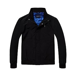 Scotch & Soda Herren Jacke Simple AMS Blauw Harrington Jacket, Schwarz (Black 90), X-Large