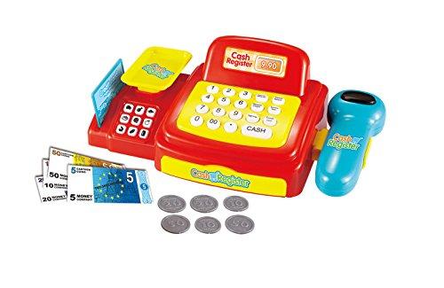 Joueco bn0232633juegos–Caja registradora de juguete con luz y
