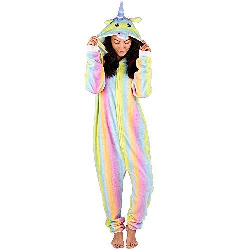 Citycomfort onesies per bambini (2-3 anni, unicorno arcobaleno)