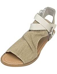 Femmes Sandales Strappy 8821 Inuovo lPBh01O