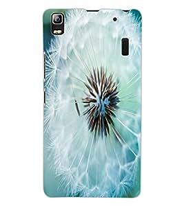 ColourCraft Beautiful Flower Design Back Case Cover for LENOVO A7000 PLUS