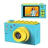 ShinePick Cámara Digital para Niños,Zoom Digital de 4X / 8MP / 2' TFT LCD de la Pantalla Cámara Fotos con Tarjeta de Memoria (Azul)