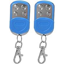 XCSOURCE 2pcs Universal Keyless entrada eléctrica clonación Puerta de garaje puerta Fob control remoto llave Fob 433mhz / 433.92mhz azul HS810