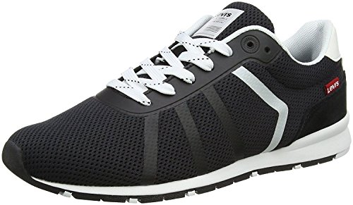 Unbekannt Levi's Almayer Lite Black White Mens Trainers