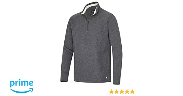 83db6190d06e Polo Ralph Lauren Herren Sweatshirt Loungeshirt Zip M anthrazit-Melange (001)   Amazon.de  Bekleidung