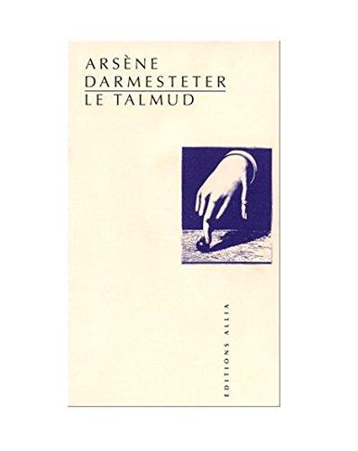 Le Talmud par Arsène Darmesteter