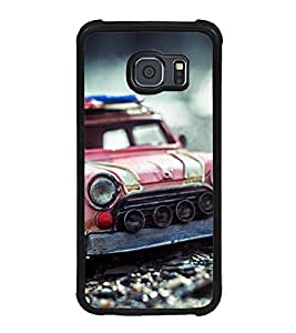 old car Back Case Cover for SAMSUNG GALAXY S6 EDGE