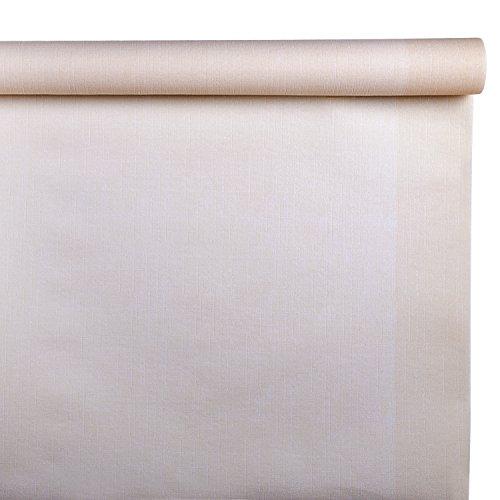 Class c048r-138-pefc airlaid tovaglia a rotolo con pretaglio, carta, avorio, 480x120x0.1 cm