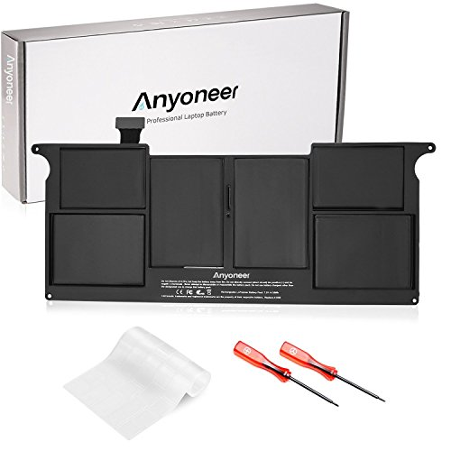 Anyoneer A1406 A1495 Ultra Hochleistung Akku für Apple Unibody MacBook Air 11