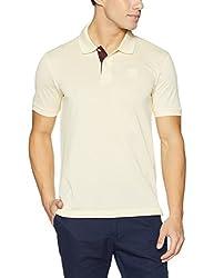 Arrow Sports Mens Plain Regular Fit T-Shirt (8907538072061_Beige_XL )