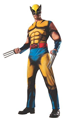 Adult Deluxe Wolverine Fancy dress costume - Deluxe Wolverine Kostüm