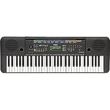 Yamaha PSR-E253 - Teclado portátil (61 teclas, 372 sonidos, 100 canciones), color negro