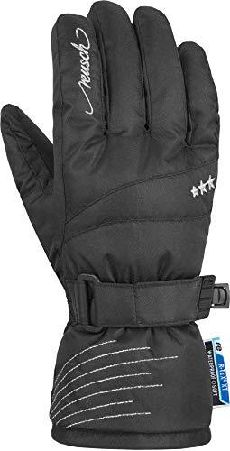 Reusch Mädchen Pony R-TEX XT Junior Handschuhe, Black/Silver, 6.5