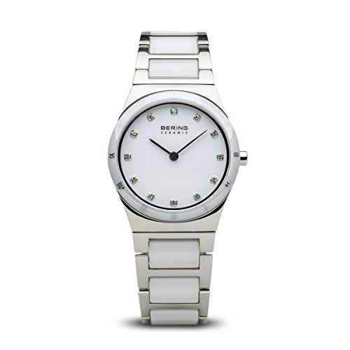BERING Damen-Armbanduhr Analog Quarz Edelstahl 32230-764