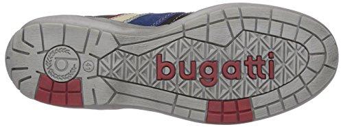 Bugatti - Scarpe da ginnastica F7701Pr13, Uomo Nero (Schwarz (schwarz/grau 114))