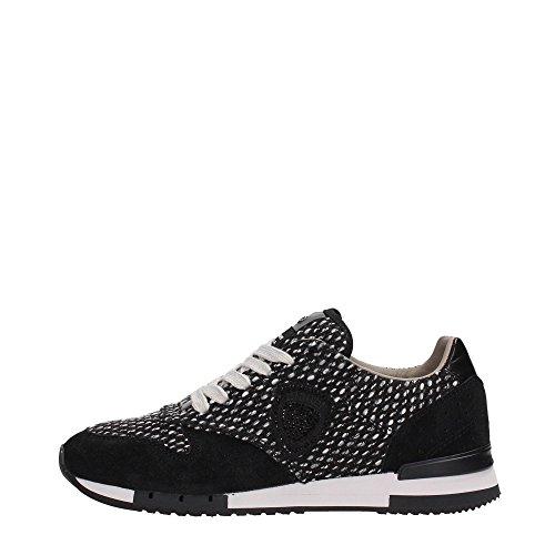 Blauer USA 6FWORUNORI/WOL Sneakers Donna Scamosciato Black Black 38