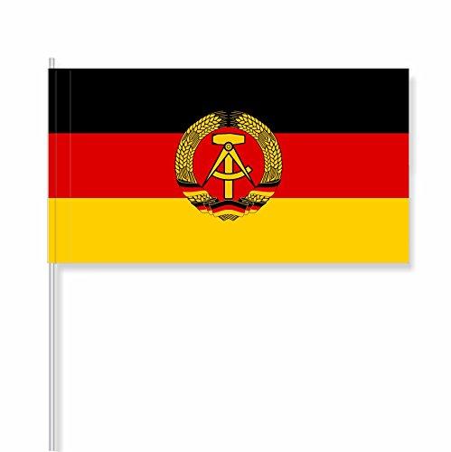 """antrada Papierfähnchen """"Deutsche Demokratische Republik (DDR)"""" (25 Stück)"""