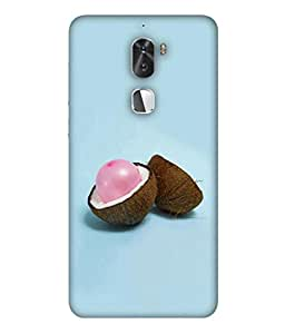 PrintVisa Designer Back Case Cover for Coolpad Cool 1 (Hard From Outside And Soft From Inside)