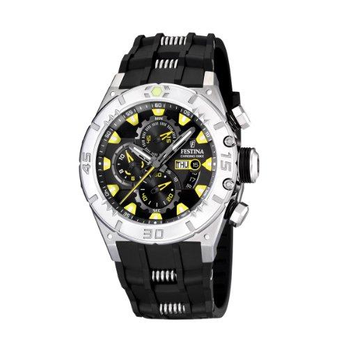 Festina - F16528/2 - Montre Homme - Quartz - Chronographe - Chronomètre - Bracelet Plastique Noir