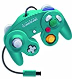 Controller emerald blue for exclusive use of Nintendo GameCube -