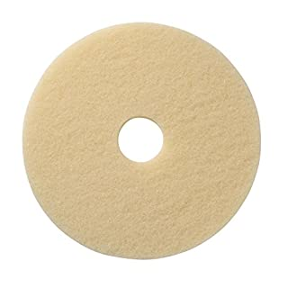 Americo Manufacturing 403716 Beige Carpet Encapsulation Cleaning Floor Pad (5 Pack), 16