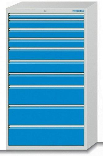 Schubladenschrank Serie 700 mit 10 Schubladen verschiedene BLH Schubladenschränke Breite 700
