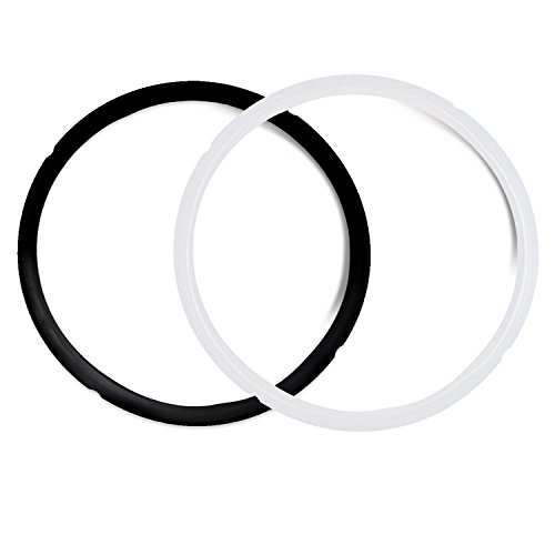 Housewares Solutions Pack of 2 Instant Pot Silicone Sealing Ring - Compatible with IP-DUO60, IP-LUX60, IP-DUO50, IP-LUX50, Smart-60, IP-CSG60 and IP-CSG50