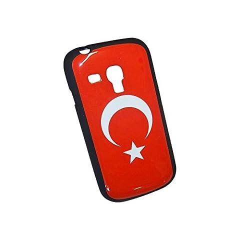 Schutzhülle aus Gel Flagge Türkei für Samsung Galaxy S3Mini (Ebay Samsung S3 Mini)