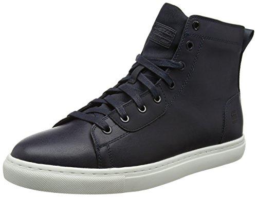 G-star Raw Zlov Mid, Sneaker À Collo Alto Uomo Blu (dk Marine)