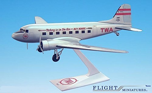 twa-victory-is-in-the-air-dc-3-airplane-miniature-model-plastic-snap-fit-1100-part-adc-00300c-007