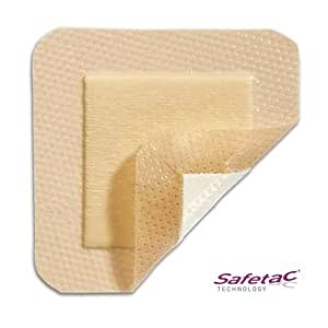 Mepilex Border Lot de 5 pansements de 7 x 7,5 cm