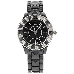 Christian Dior Dior VIII CD1231E1C001 Ceramic & Diamond Quartz Ladies Watch