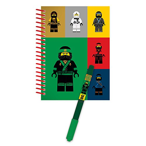 LEGO Ninjago 51868 Mini Spiral Book With Pen, Movie