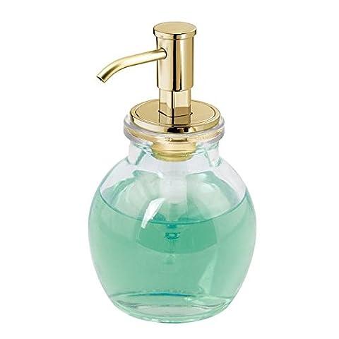 mDesign distributeur de savon rechargeable – pompe à savon discrète