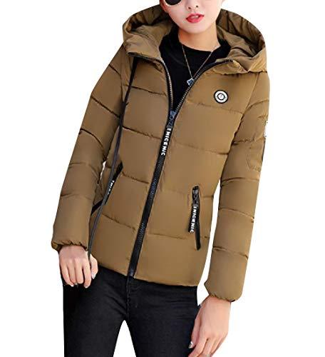 CuteRose Women Short Mini Oversized Regular Warm Thickened Coat Jacket AS1 2XL - Oshkosh Fleece Hoodie
