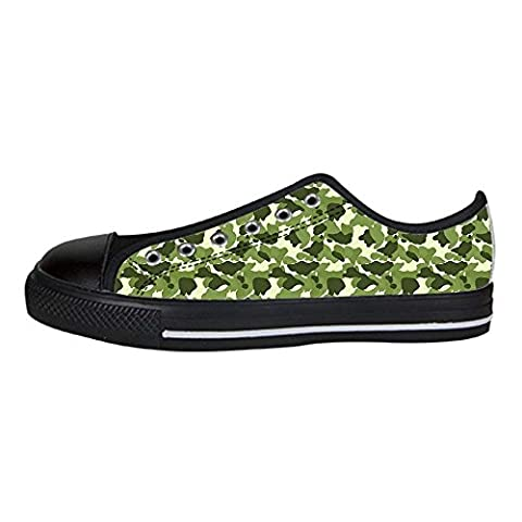 Dalliy camouflage Women's Canvas Shoes Lace-up High-top Footwear Sneakers Chaussures de toile