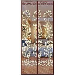 Moustiquaire À Fermeture Aimantée Rideau De Porte, Moustiquaire Moustiquaire Magnétique La Fenêtre Lourd Duty Bug De Plein Air Été Pour Chambre Cuisine Balcon (Size : 90 * 210cm)