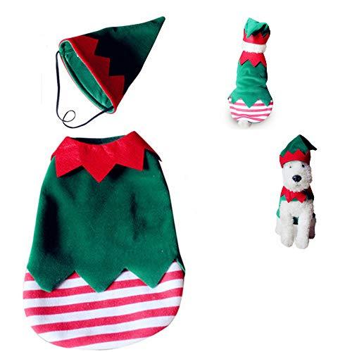 JLCYYSS Halloween Pet Coat, Haustier Kostüm Hund Weihnachten Halloween Clown Stil Dekor Kleidung Bekleidung,L
