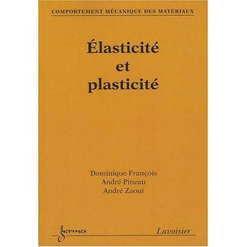 Elasticité et plasticité