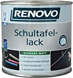 SchultafelFarbe SchultafelLack Tafellack RENOVO 375 ml schwarz matt