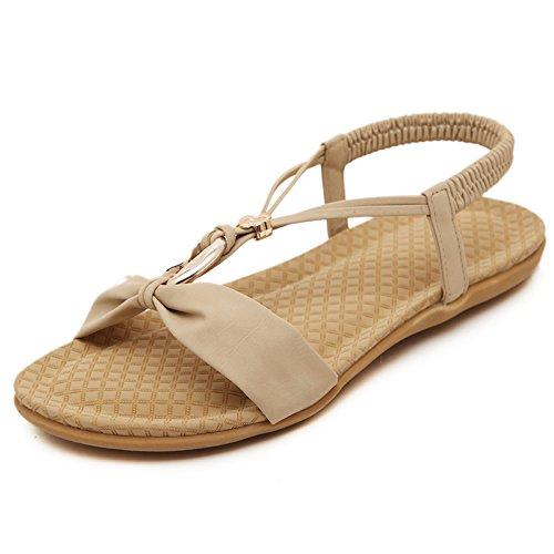 GTVERNH-il verde le pantofole donna summer super grande acqua esercitazione solo scarpe a suo agio soft fondo e fondo piatto una spiaggia scarpe tempo libero beach scarpe,36 Forty
