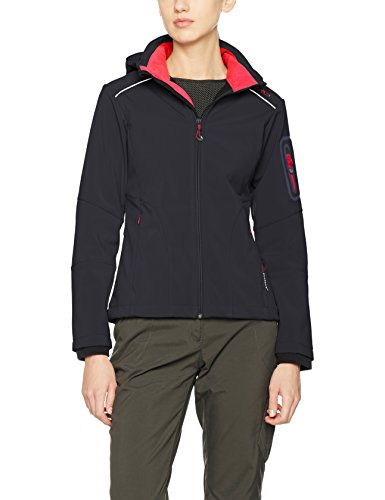 CMP Damen Softshelljacke Anthracite-Ibisco