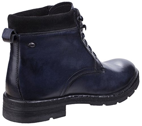 Base London Panzer Homme Boots Fauve Washed Blue